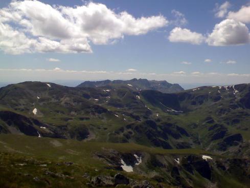 Поглед към Урдините езера - от връх Мальовица